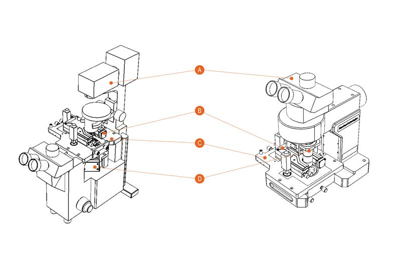 Certus Optic I/U - atomic force microscpe and light microscope