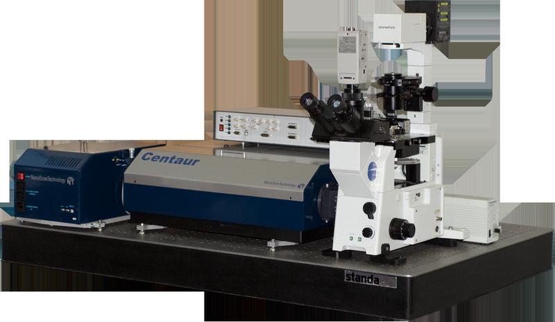 Centaur I - АСМ/Раман конфокальный лазерный микроскоп/спектрометр и конфокальный лазерный микроскоп